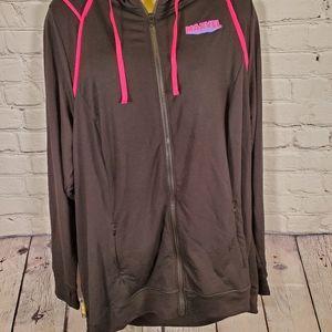 NWT Torrid Black Neon Marvel Hooded Sweater